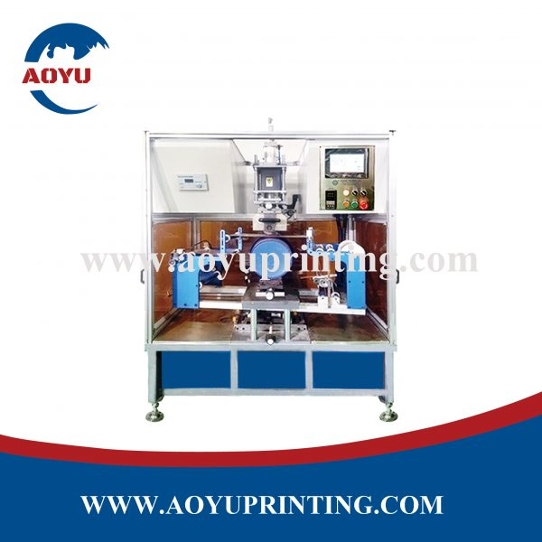 AY-TL400 PP bucket heat transfer machine for 5L to 20L paint bucket