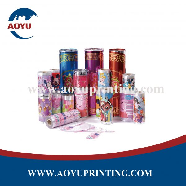 heat transfer printing film on children lunch box